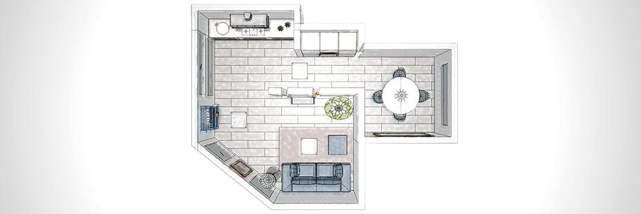 Progetti d interni per spazi ambienti da allestire e - Progettazione spazi interni ...