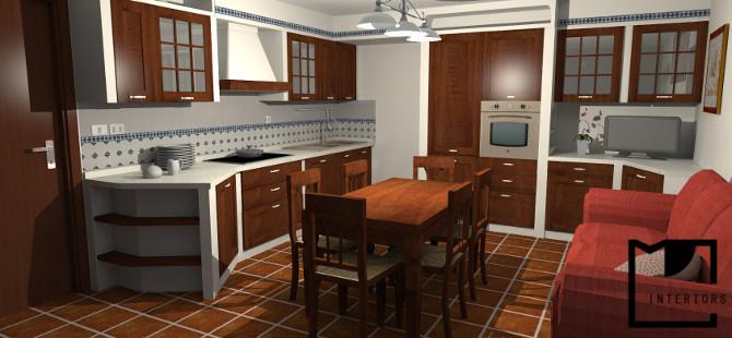 Progetto cucina in muratura - Cucina muratura progetto ...