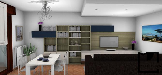 Arredamento per libreria progettazione e realizzazione for Master arredamento interni
