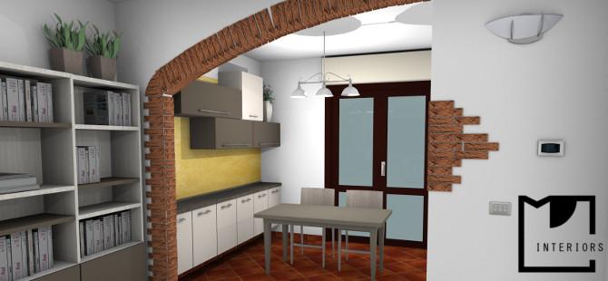 Rinnoviamo la zona giorno for Progettazione arredamento interni