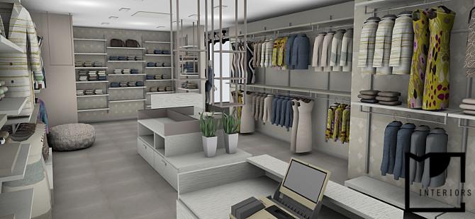 Progettazione negozio abbigliamento for Progettazione di negozi