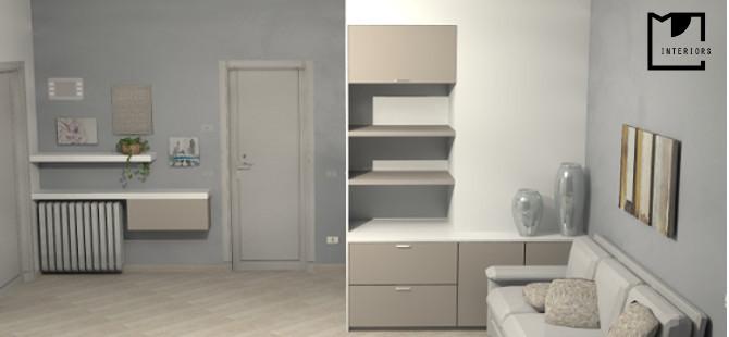 Progettazione interni appartamento for Interni e progetti