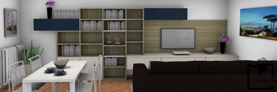 Progetti di interni, interior design e progettazione arredo